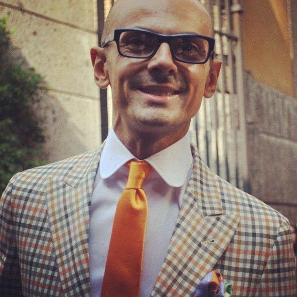 Enzo Miccio, il wedding planner più famoso d'Italia presente alle sfilate della #mfw