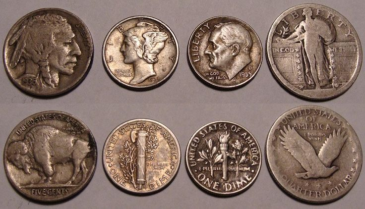 value of old coins - Old U.S. coins. photo by oceandesetoiles on Flickr
