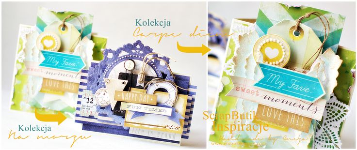 Cards by Encza / Carpe diem paper collection by P13
