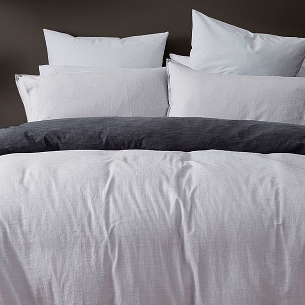 Linen Cotton Quilt Cover Set Queen 89 Target Shopping