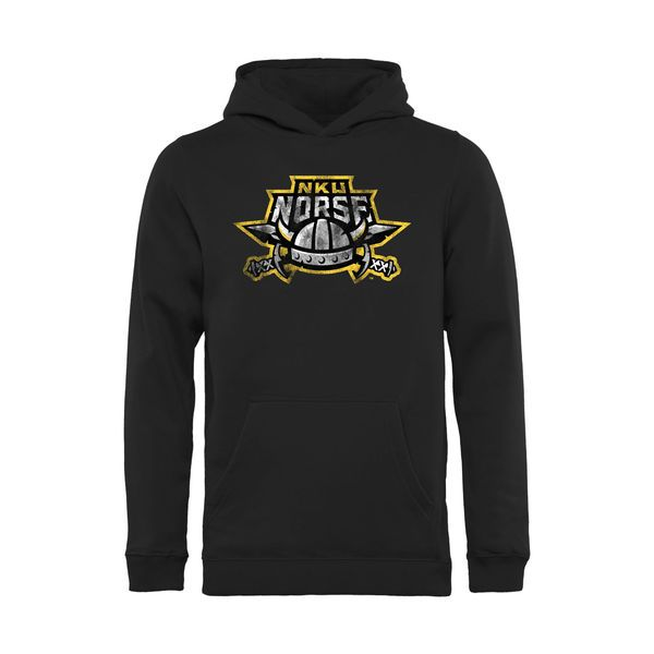 Northern Kentucky University Norse Youth Classic Primary Pullover Hoodie - Black - $34.99