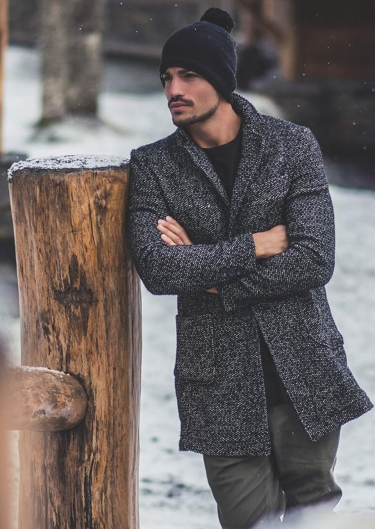 winter is coming // coat, menswear, mens style, fashion, beanie