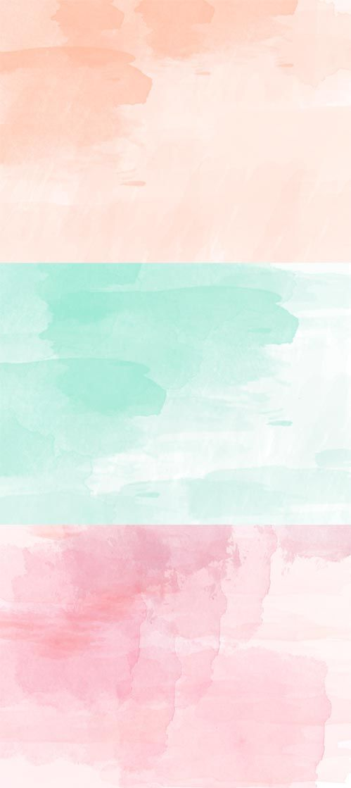 free wallpaper hello watercolor accent colors