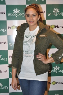 Huma Qureshi Launches Woodland's Winter Collections.