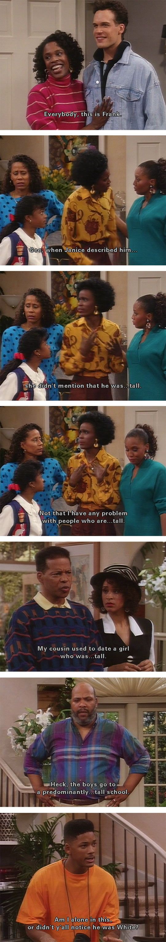 One Of My Favorite Fresh Prince Moments