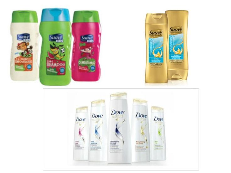 **HUGE SAVINGS** Suave & Dove Hair Care ONLY $0.69 at Target  (thru 4/1)