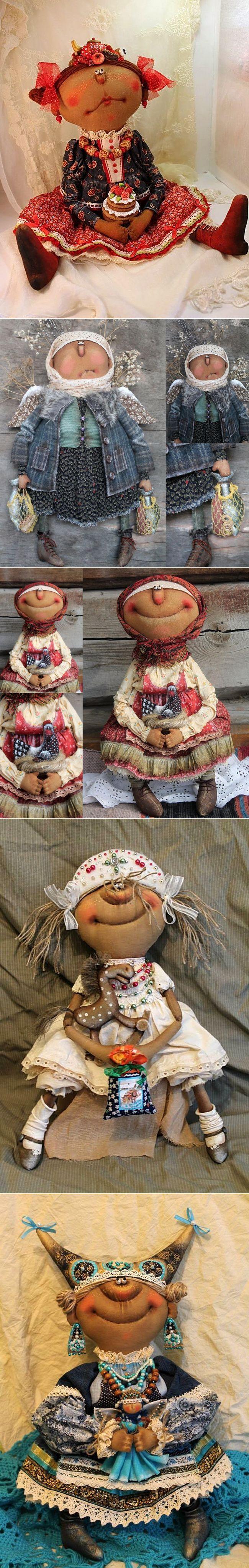 Восторг! Яркое творчество Татьяны Козыревой: авторская кукла | куклы | Постила