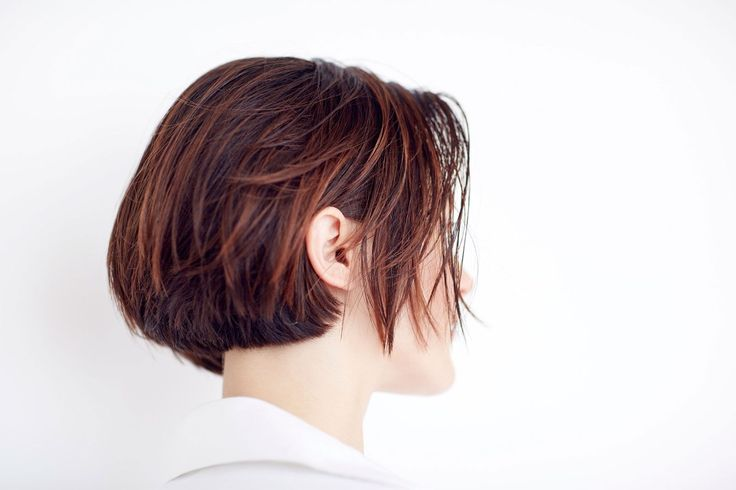 This Is NYC's Hottest Haircut Right Now #refinery29  http://www.refinery29.com/2016/12/130938/michael-gordon-wavy-new-york-it-girl-haircut#slide-2  Here's a prime example of how this works on both short and thick hair. While that top layer has some razor work, the underlying hair has been cut in an angled-forward line....