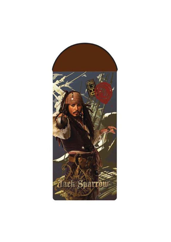 Sleeping bag with Jack Sparrow http://www.faro.com.pl/produkty/koldry_i_spiwory/462