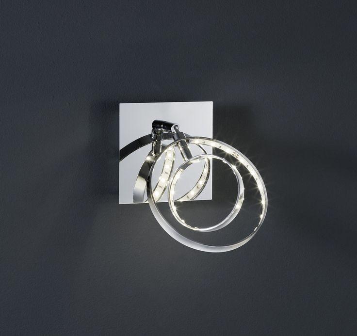 Prater seinävalaisin/kattovalaisin 1-os. LED 4 W kromi    Lampun tyyppi: 1 × SMD 4 W  LED (sis.toimitukseen)  Jännite: 230V  Valoteho: 400 lumenia  Valon sävy: 3000 kelviniä (lämmin valkoinen)  Kotelointiluokka: IP20 (kuivaan tilaan)  Rungon materiaali: Metalli  Rungon väri: kromi  Korkeus: 18,5 cm  Halkaisija: 10 x 10 cm  Valaisimessa virtakytkin  Takuu: 5 vuotta