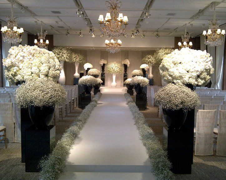 512 best aisle flowers images on pinterest weddings for Aisle wedding decoration