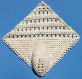 At the conclusion of my last post, way back at the beginning of the year, I teased that the final pattern in the 1884 knitted lace sample bo...