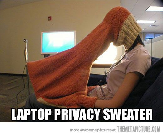 A little privacy please…