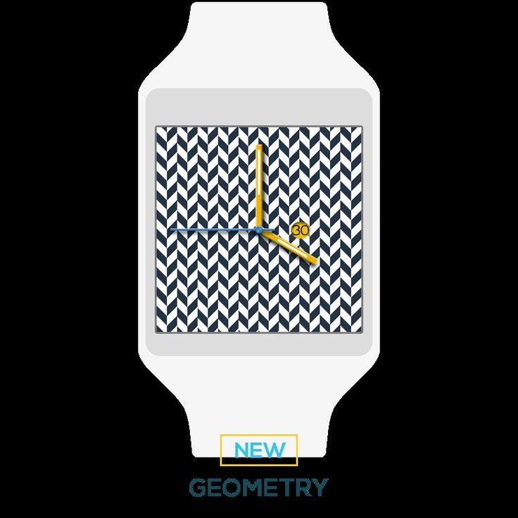GEOMETRY | smartwatch ui/ux design