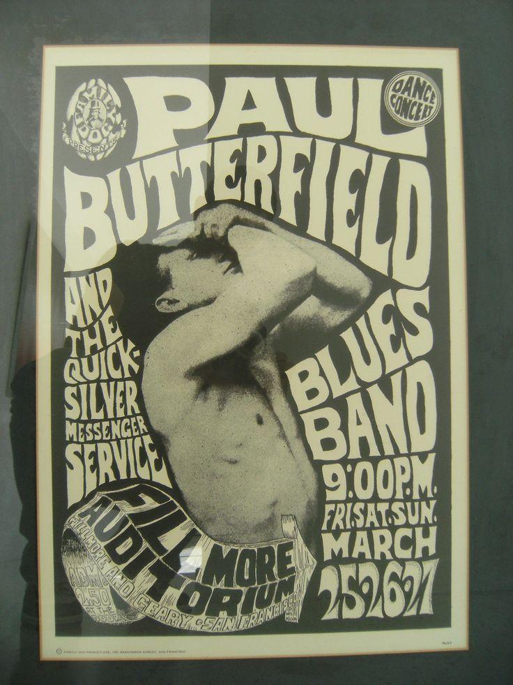 15 Best Vintage Concert Posters Images On Pinterest