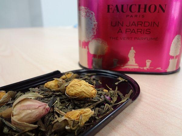 フォションの新作フレーバーティー パリの庭「ジャルダン・ア・パリ」を飲んでみた