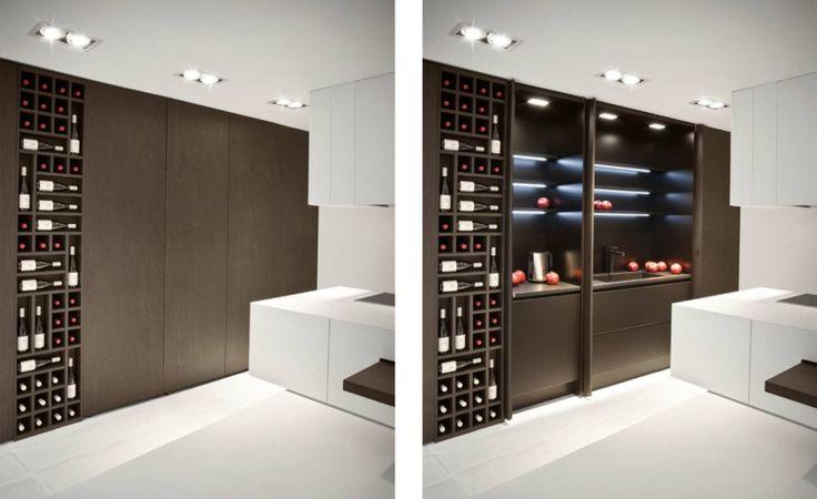 Italienische Designermöbel Alessandro Isola italienisches design the cut küchenschrank