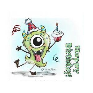 Monster Birthday | Scrapfabriken scrapbooking - material för scrapbooking, kortmakeri och alter  papper, dekorationer, stämplar, färg, verktyg, Project Life och mycket mer.