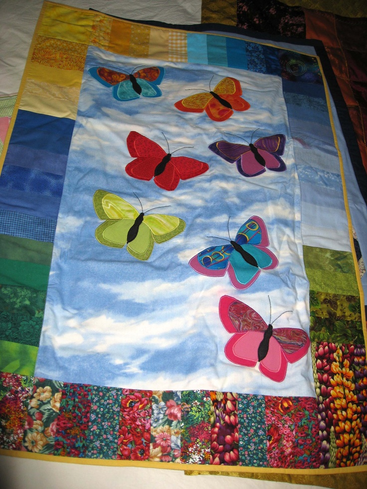 18 Best Images About Butterfly Baby Quilts On Pinterest