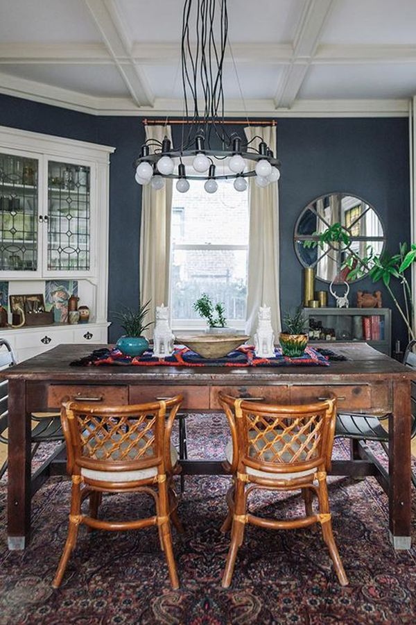 A Dining Room Rug And Food. Can It Be Done? | Trend Center by Rugs Direct