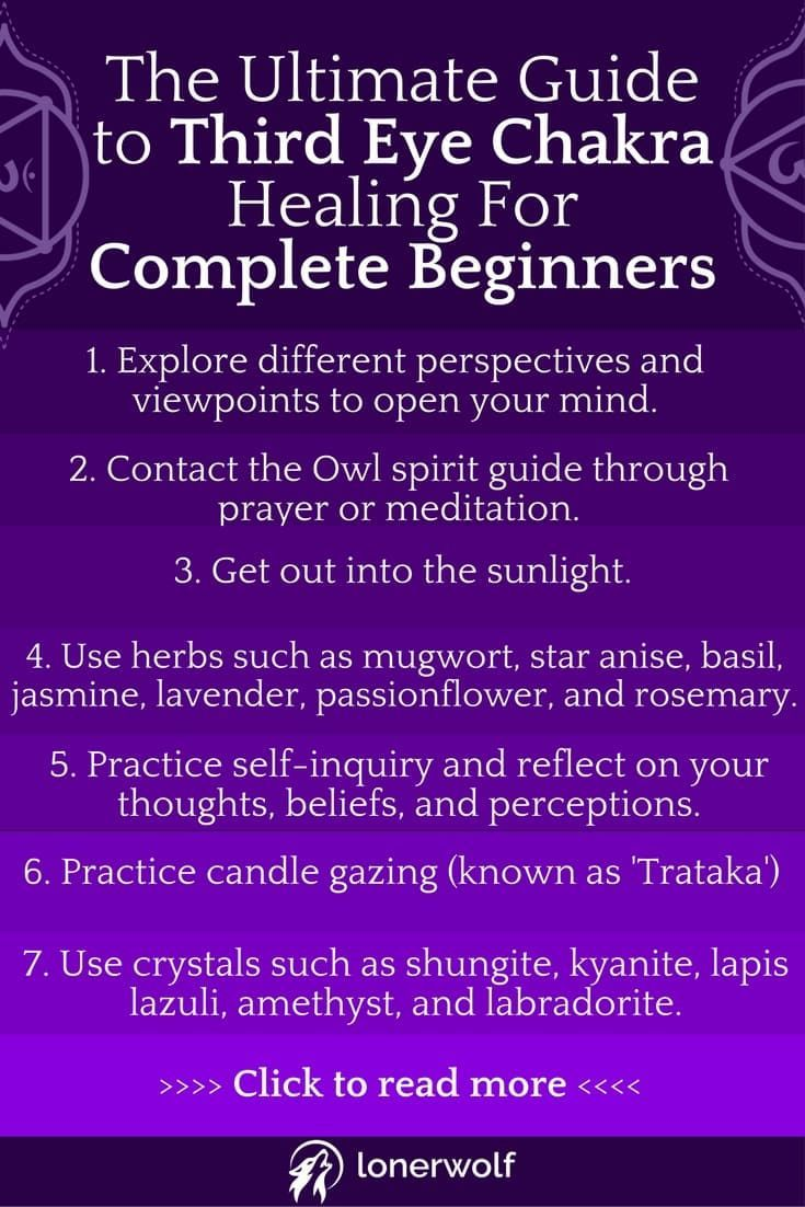 The Ultimate Guide to Third Eye Chakra Healing For Complete