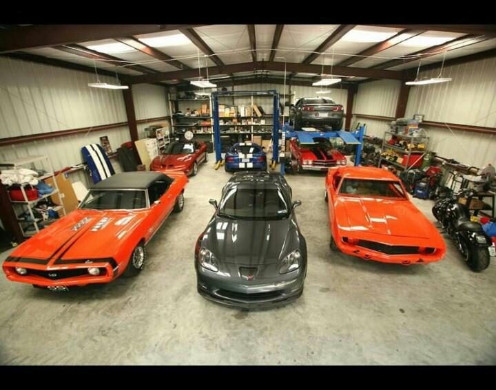 17 best images about my ideal garage on pinterest wood insert yamaha r6 and places - Garage de voiture de collection ...