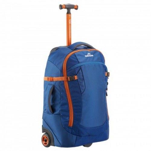 $209.99 (was $349.98) Hybrid 30L Carry On Luggage Trolley - Dark Blue @ Kathmadu - Bargain Bro