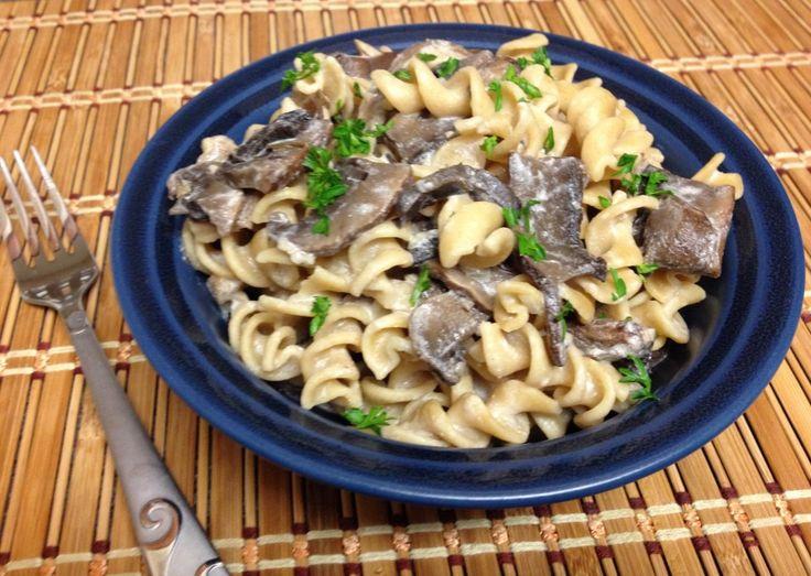Forks Over Knives Cookbook Project: Mushroom Stroganoff- Fresh and Faithful #vegan