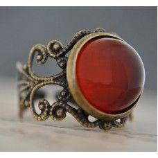 HAZAN MEVSİMİ Vintage Tarzı Akik Yüzük http://ladymirage.com.tr/hazan-mevsimi-vintage-tarzi-akik-y%C3%BCz%C3%BCk-35454833.html?search=35454833 #sonbahar #akiktaşı #yüzük #bronz #kahverengi #vintage #takı #tasarım #elyapımı
