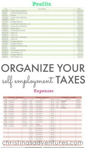 organize small business taxes plus free printables small business