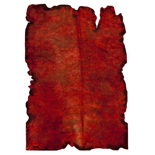 Found it at Wayfair - Jalwa 1 Hand-Tufted Red Area Rug