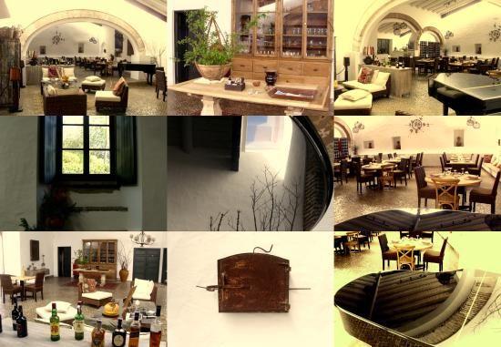 Lagar Mesquita is een prachtig restaurant met een goede kaart.