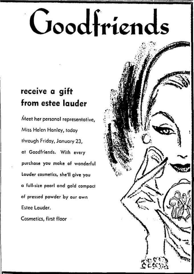 Estée Lauder and the Origins of the Free Gift with Purchase . . .  Ad Campaign (1959) | Estée Lauder