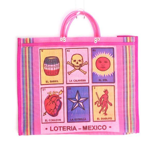 Market Bag - Loteria Pink