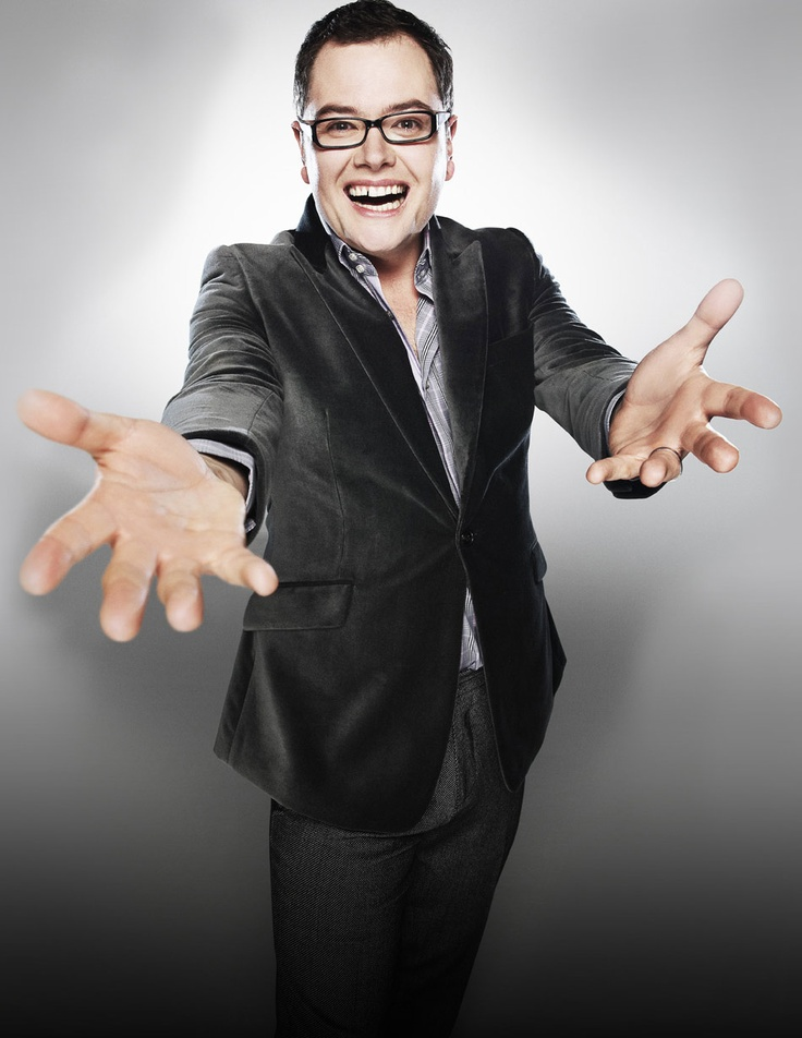 Alan Carr Chatty Man....IN LOVE with him, he is the funniest man ever! I wish they played his show on tv in America!!