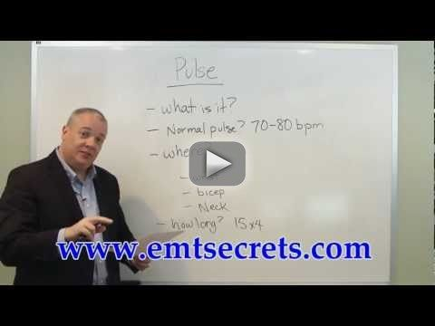 EMT-B Training Pulse - www.emtsecrets.com Relying on the right study materials is absolutely essential for success on the EMT test. What you see in the video is only a tiny sample