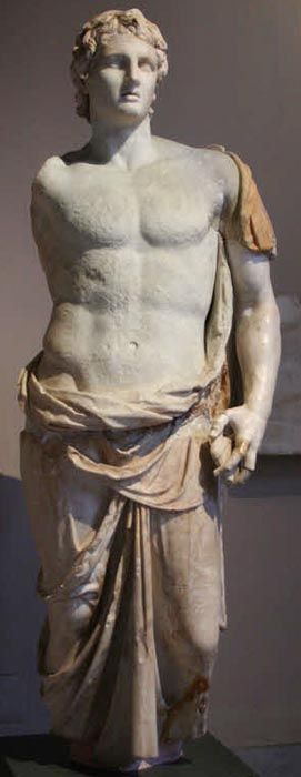 Statue of Alexander the Great in the Istanbul Archaeology Museum