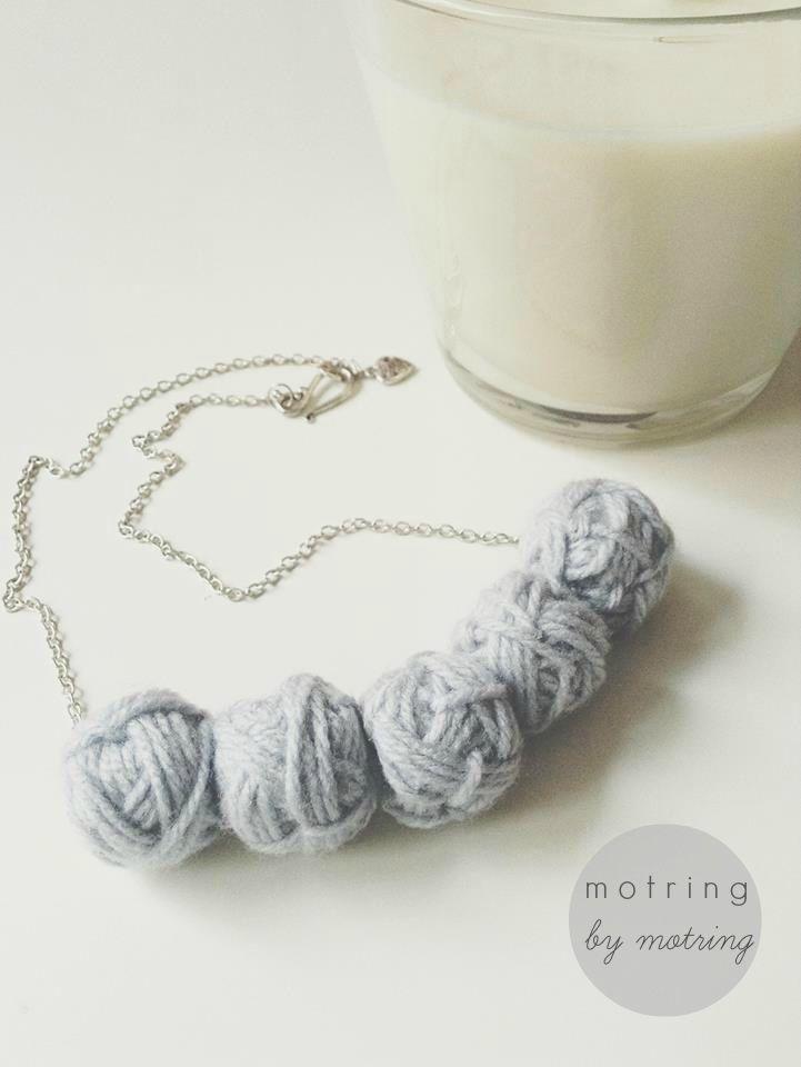 placid blue motring necklace