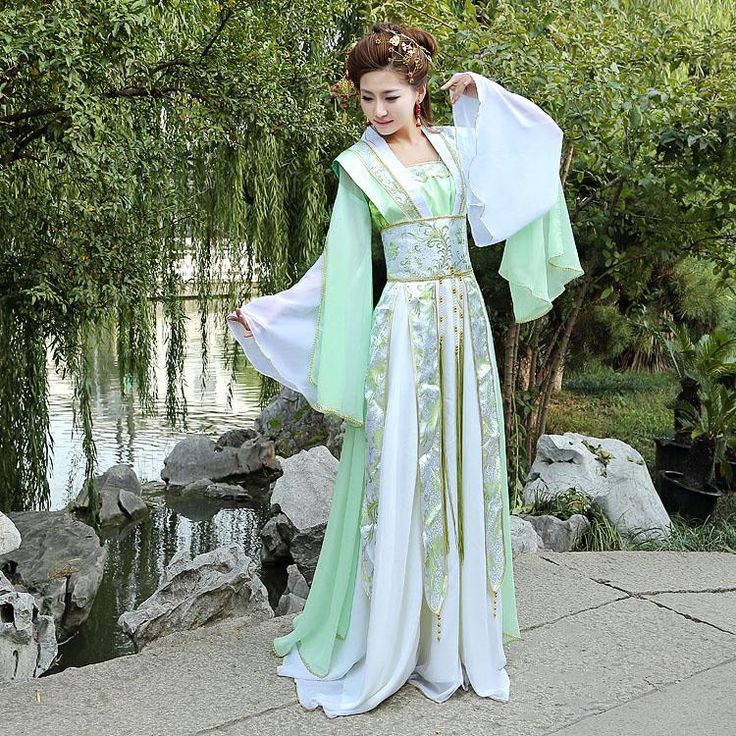 Fairy Elegant Upscale Clothing Han Chinese Clothing Costume Dress Jacket  Summer Garment Of Ancient Tang Dynasty