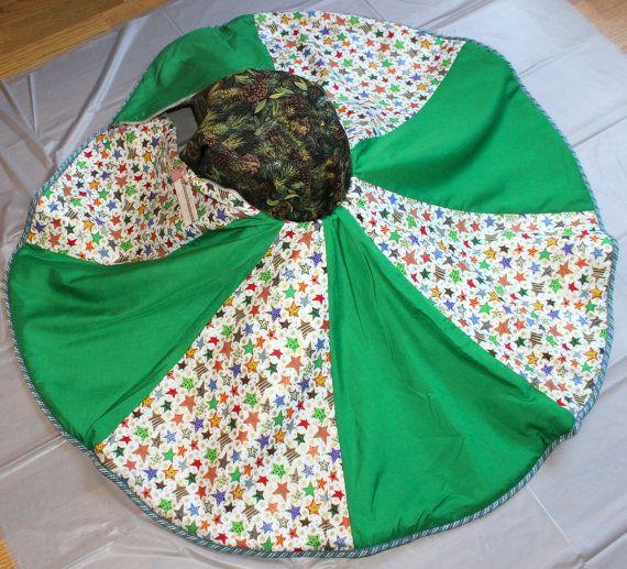 Christmas Tree Skirt Handmade By ZippersCreations On Etsy 5525