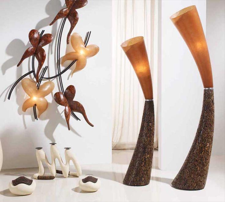 Stehlampe PRESTO, afrikanischer Stil. Ihr Webshop für dekorative Lampen und Leuchten.
