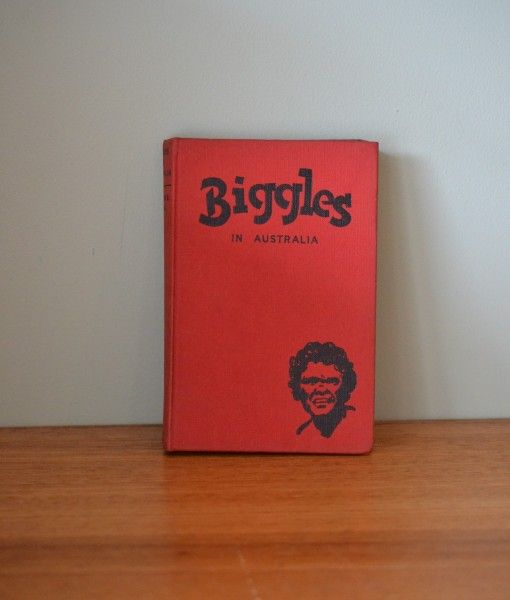 Vintage Childrens book Biggles in Australia Hodder & Stroughton Limited 1s Ed. 1955