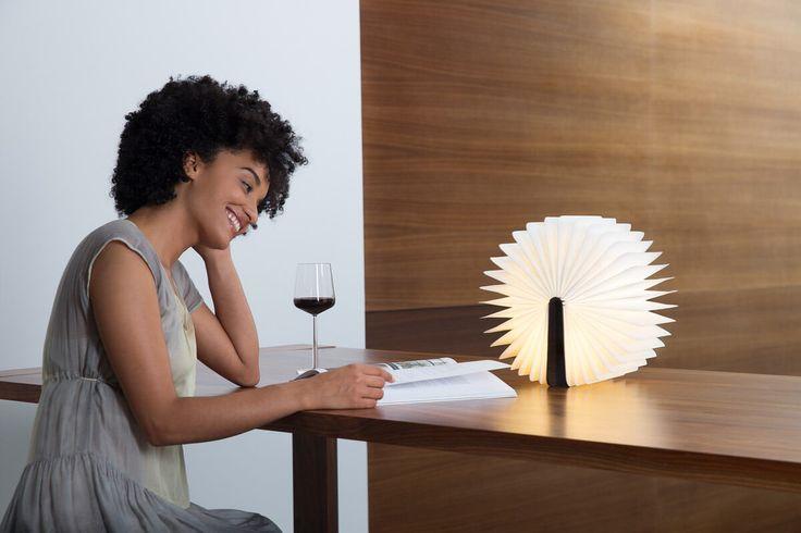 Lámpara Libro Lumio Nogal ER - Lámparas de Suspensión - Iluminación   | DomésticoShop
