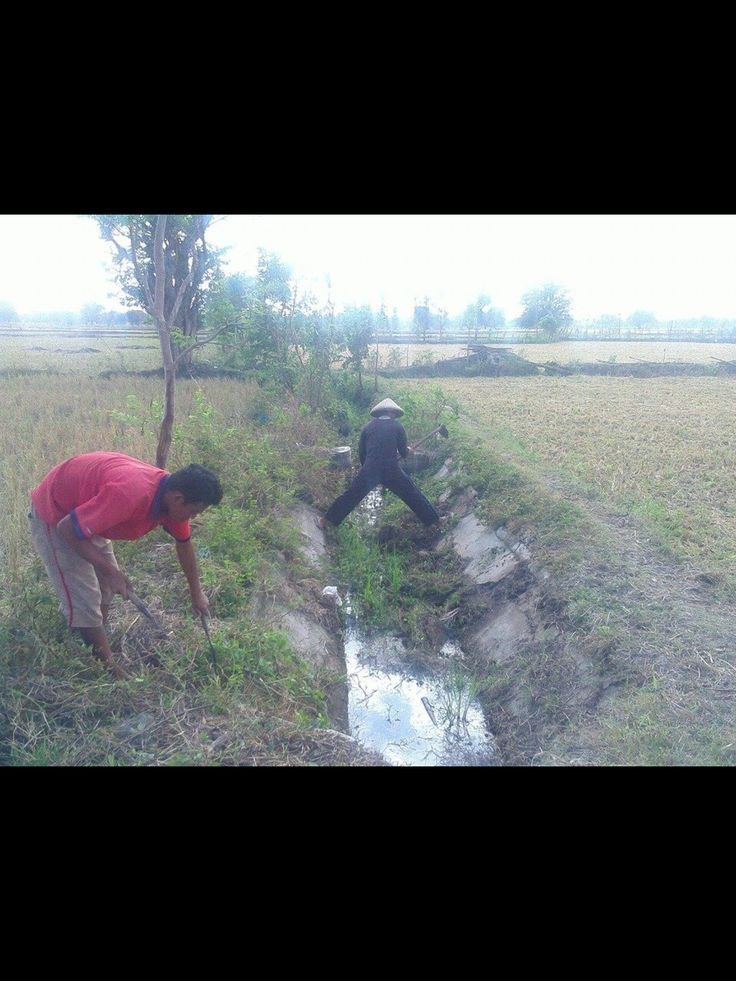 Irrigation Channel Routine Maintenance
