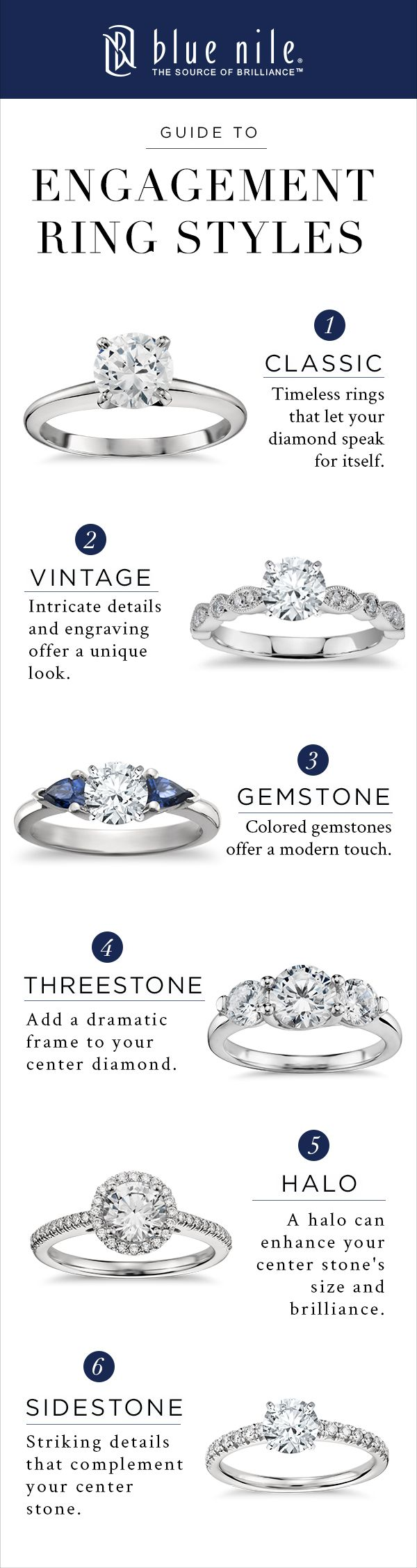 Classic, vintage, halos and more. Handcrafted engagement rings, each perfectly designed to take your breath away.