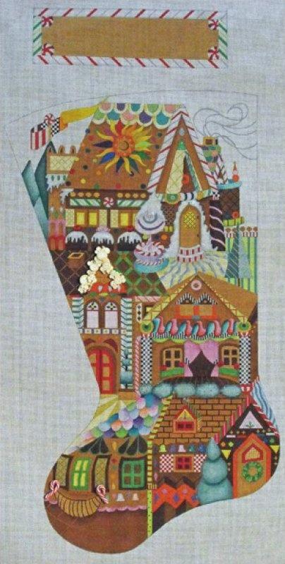 Christmas Stocking Needlepoint Kits Needlepoint-for-fun.com