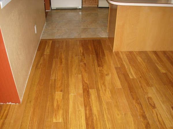 Golden teak hardwood flooring exotic brazilian for Exotic wood flooring