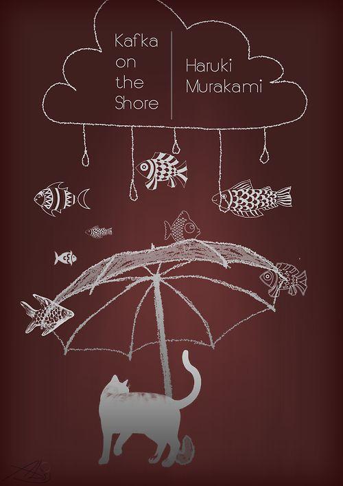 "adriportfolio:  ""Kafka on the Shore"" Cover"