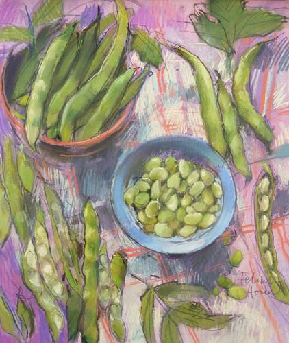 Felicity House Early Broad Beans....♔..