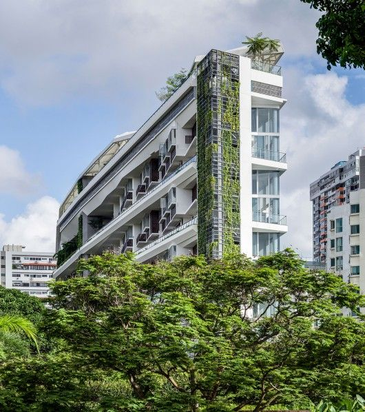 Courtesy of DP Architects Architects: DP Architects Location: Ridgewood Condominium, Singapore Project Team Members: Seah Chee Huang, Yeong Weng Fai, Eric